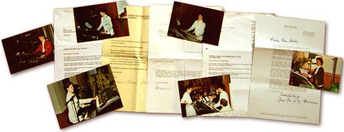 Briefe und Fotos an Heidrun Dolde