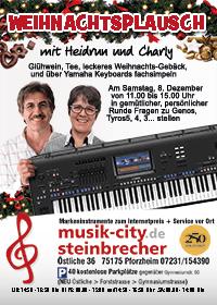 Weihnaxchtsplausch mit Heidrun Dolde und Charly K.